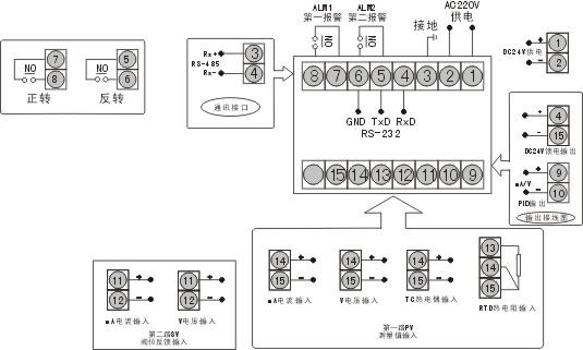 3013温控器端子接线图