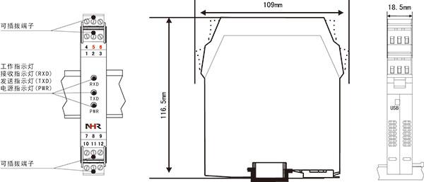 冷热饮水机内部结构接线图
