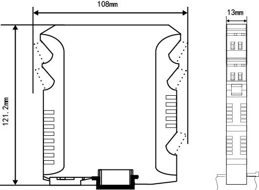 将现场的热电阻或热电偶信号经过隔离放大处理,转换为与温度成线性的直流信号输出至控制系统,用作热电偶温度变送时,具有冷端温度自动补偿功能。可用配套的上位机软件进行参数修改,可以与单元组合仪表及DCS、PLC等系统配套使用,给予现场仪表信号隔离、信号转换、信号分配、信号处理等,从而提高工业生产过程自动控制系统的抗干扰能力,保证系统的稳定性和可靠性。本产品品种分为一进一出、一进二出、二进二出,且输入、输出磁隔离。