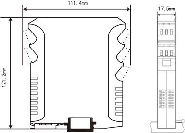 接线图  技术参数 输入 输入信号 直流电压,电流信号 输入阻抗 电流