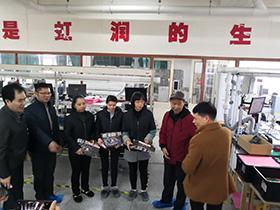 南平市工会深入虹润公司开展慰问困难职工送温暖活动